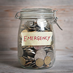 emergency coin jar